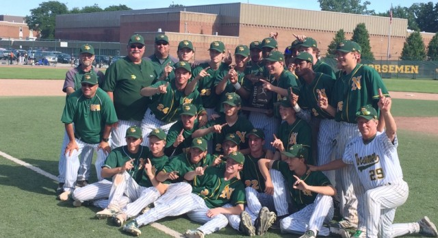 North Baseball team: Regional Champions