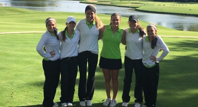 Girls Golf Team MAC Red Champions