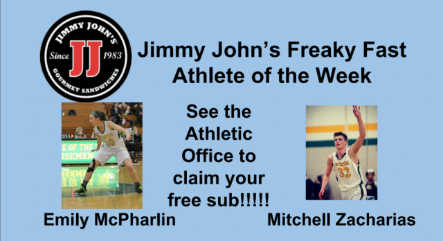North Athletes of the Week