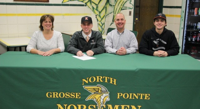 Alex Kracht signs with Kalamazoo College
