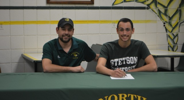 Christian Preston signs with Stetson University