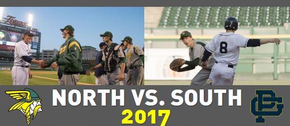 North vs. South at Comerica Park