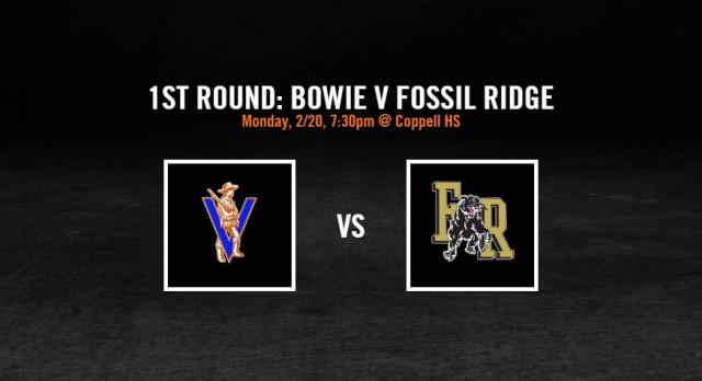 Bowie will meet Fossil Ridge 1st Round