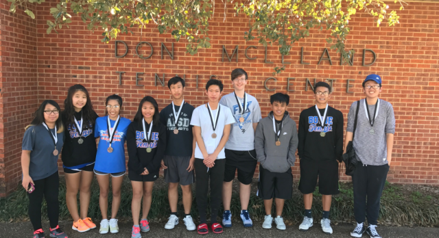 JV Tennis Succeeds at South Hills Tournament