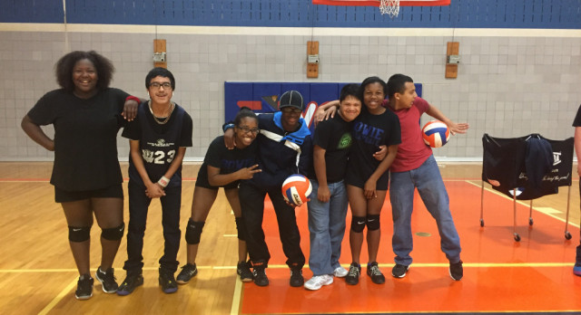 Lady Vols Help Prepare Students For the Special Olympics!
