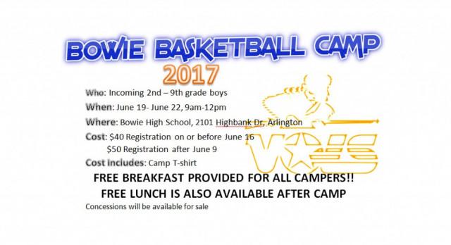 Boy's Basketball Hosts Camp