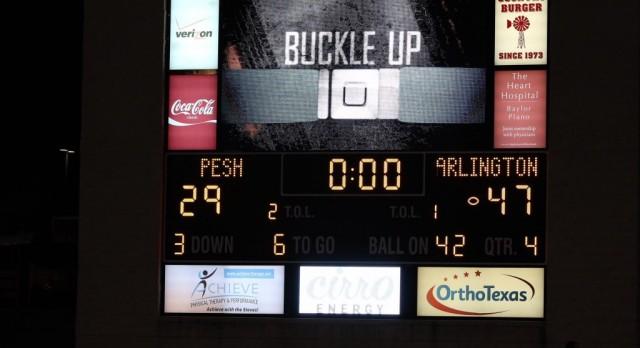 Quarterback-receiver combination sparks Arlington victory