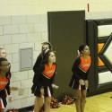 South High Cheerleaders vs. Benild St. Margarets