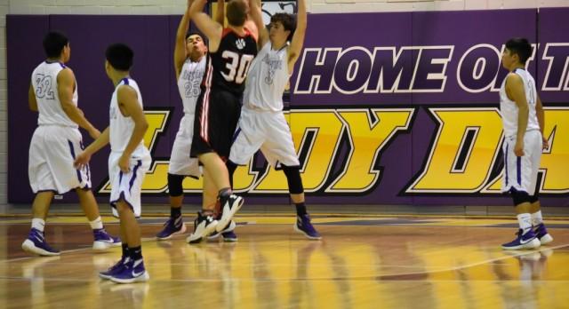 Anton High School Boys Varsity Basketball beat Whitharral High School 56-43