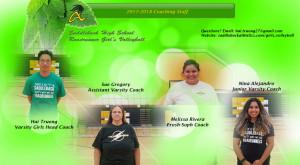 2017-2018 Coaching Staff