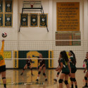 Girls Frosh Soph Volleyball 2017 vs Laguna
