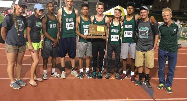 Boys Track Takes 3rd at State