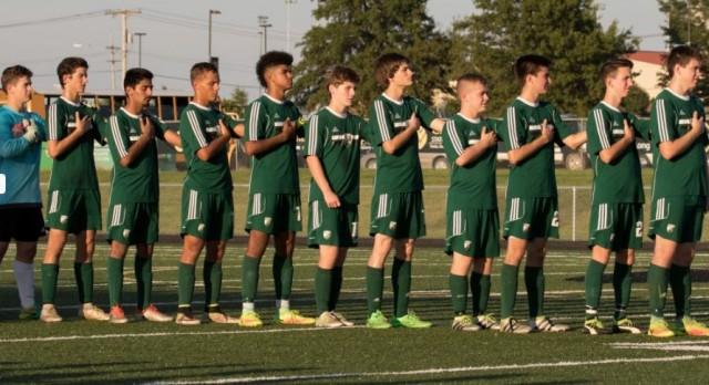 De Soto High School Boys Varsity Soccer beat Paola High School 6-3