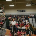 Volleyball Dig Pink vs. Mill Valley