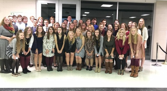 NHS Inducts 43 New Members