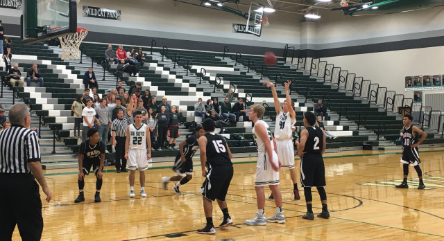 Boys Basketball Defeats Bishop Ward 71-34