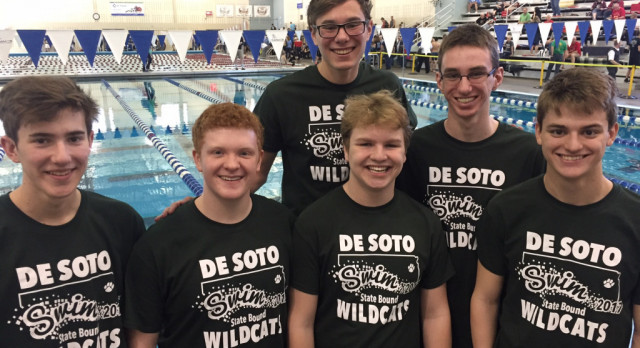Boys Swim Season Concludes at State