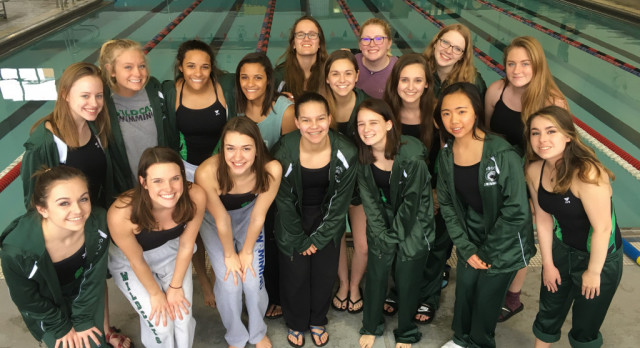 The Girls Swim Team have a great showing at the Lawrence High Invitational