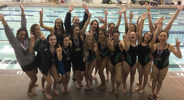 Girls Swim Wins League