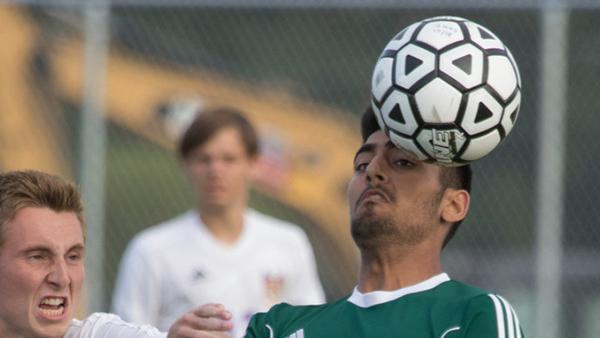 Varsity Soccer beat Piper High School 1-0