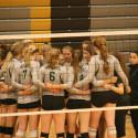 Varsity Volleyball defeats Paola 3-0