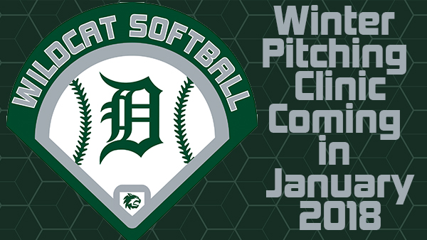 Softball Winter Pitching Clinic for Grades 2-8
