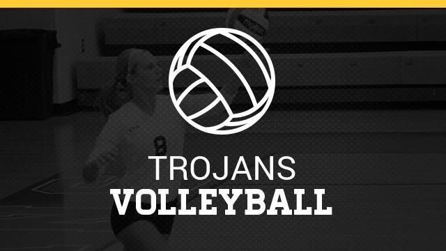 Trojan Volleyball Battles to District Championship