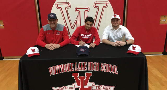 Kadoguchi signs to play baseball at Cleary University