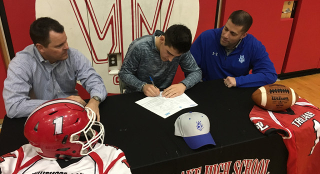 Iaquinto signs with Lawrence Technological University
