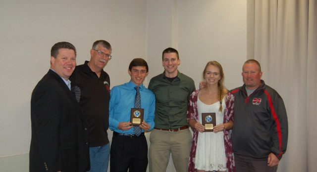 Kiwanis Athletes of the Month for April