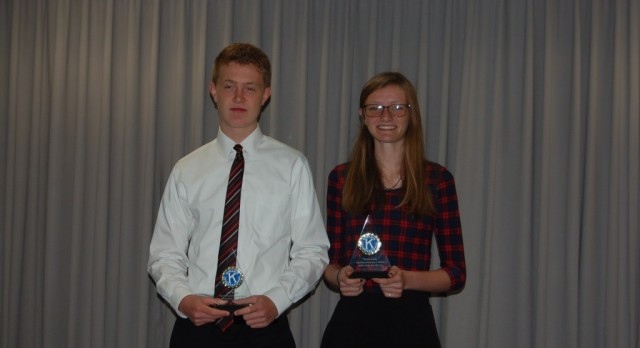 Ledy and Weber Named Athletes of the Year