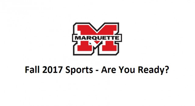 Fall 2017 Sports Checklist