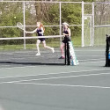 Tennis at Hagerstown–Girls get 4-1 win!