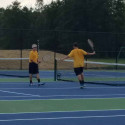 Tennis Pix from Randolph Southern Match