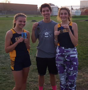 Stormie 1st Madi 3rd and Blake  7th in their races.