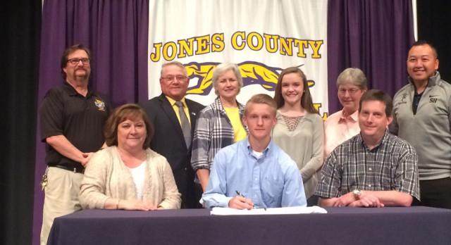 Caleb Meeks Signs Soccer Scholarship