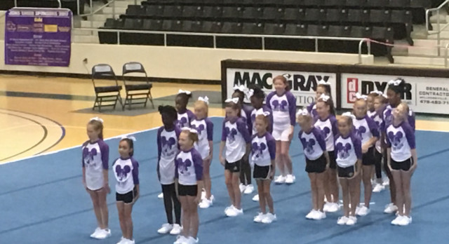 Greyhounds Host Cheer Invitational