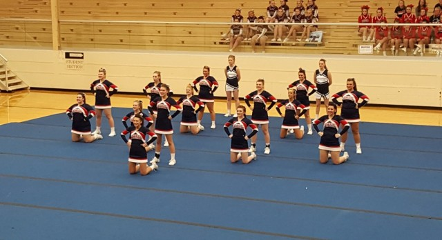MEC CHEERLEADING COMPETITION