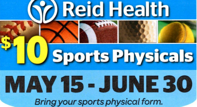$10 SPORTS PHYSICALS FOR 2017-18
