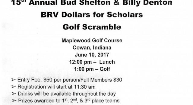 15th Annual BRV Dollars for Scholars Golf Scramble
