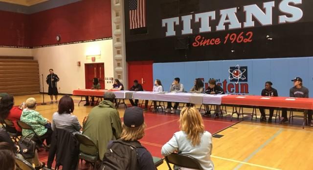5th Annual Einstein Titans Student-Athlete Collegiate Ceremony