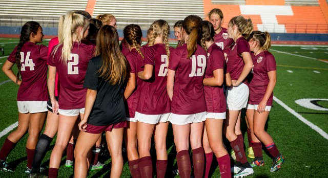 Maple Mountain High School Girls Varsity Soccer falls to East High School 1-0