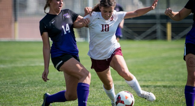Maple Mountain High School Girls Varsity Soccer beat Lehi High School 4-0