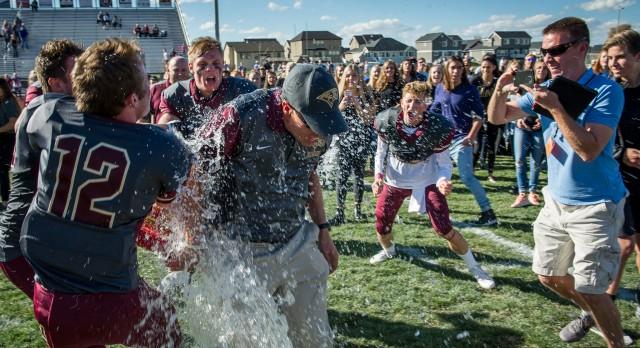Maple Mountain High School Varsity Football beat Provo High School 27-20