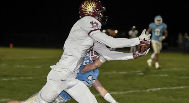 Maple Mountain High School Varsity Football beat Salem Hills High School 25-7