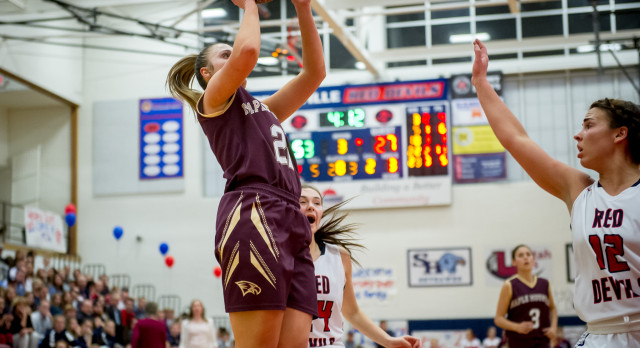 Maple Mountain High School Girls Varsity Basketball falls to Springville High School 78-51