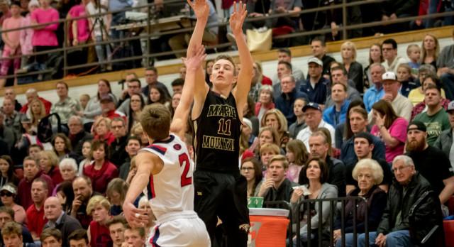 Maple Mountain High School Boys Varsity Basketball falls to Springville High School 46-44