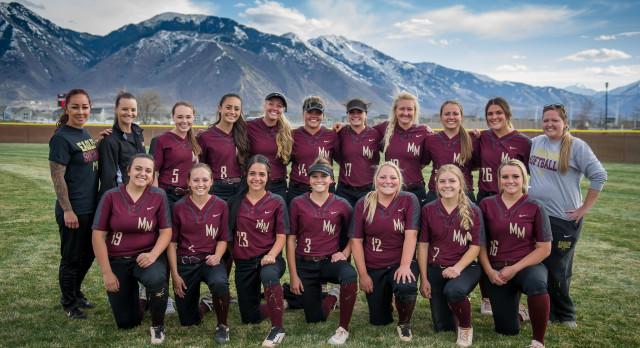 Maple Mountain High School Varsity Softball beat Juab High School 3-2