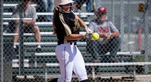 Maple Mountain High School Varsity Softball falls to Spanish Fork High School 15-2