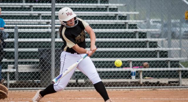 Maple Mountain High School Varsity Softball beat Payson High School 5-3